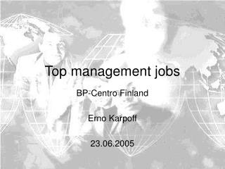 Top management jobs