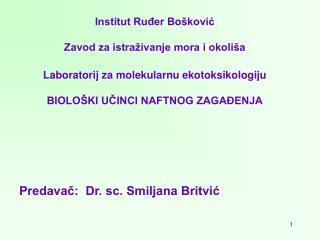 Institut Ruđer Bošković Zavod za istraživanje mora i okoliša
