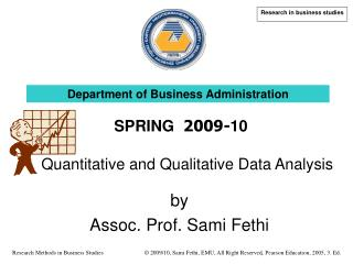 by Ass oc . Prof. Sami Fethi