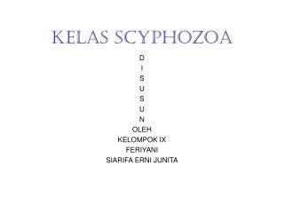 KELAS SCYPHOZOA