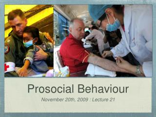 Prosocial Behaviour