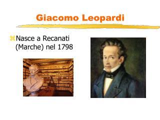 Giacomo Leopardi