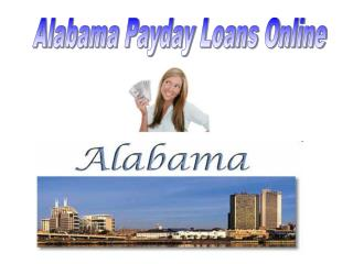 Alabama Payday Loans Online
