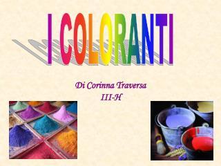 Di Corinna Traversa III-H