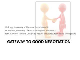 GATEWAY TO GOOD NEGOTIATION