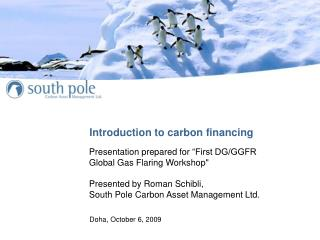 Introduction to carbon financing