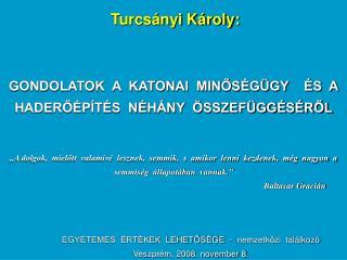 Turcsányi Károly: