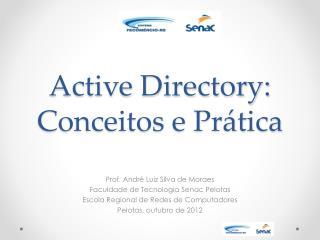 Active Directory: Conceitos e Prática