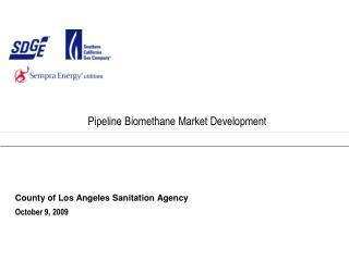 Pipeline Biomethane Market Development