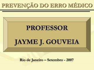 PREVEN��O DO ERRO M�DICO