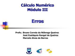 Cálculo Numérico Módulo III