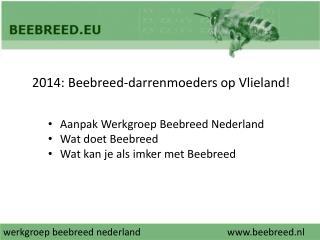 werkgroep  beebreed nederland beebreed.nl