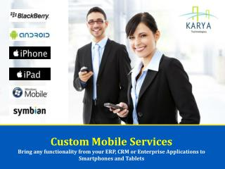 Custom Mobile Services