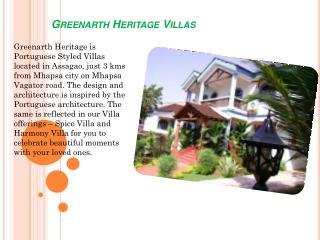 Greenarth Heritage Villas