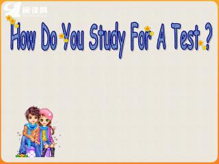 How Do You Study For A Test ?