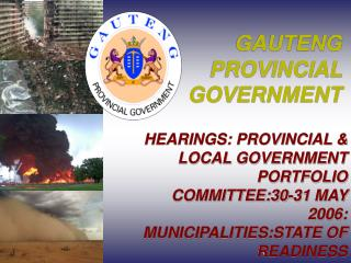 GAUTENG PROVINCIAL GOVERNMENT