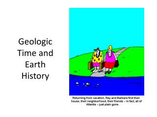 Geologic Time and Earth History