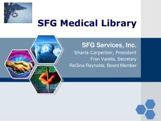 SFG Medical Library