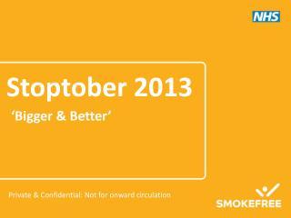 Stoptober 2013