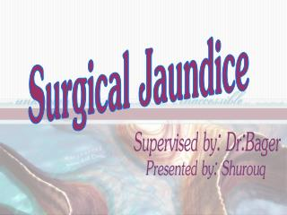 Surgical Jaundice