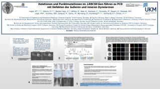 Deletionen und Punktmutationen im  LRRC50 -Gen führen zu PCD