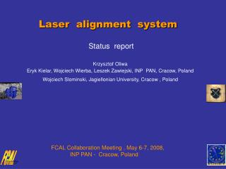 Laser  alignment  system