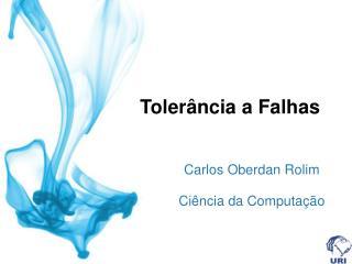 Tolerância a Falhas