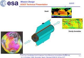 GOCE Technical Presentation