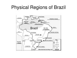 Physical Regions of Brazil