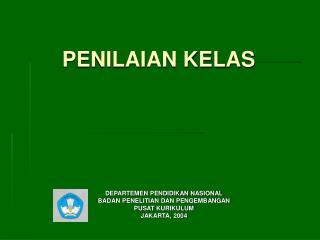 PENILAIAN KELAS