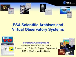 ESA Scientific Archives and Virtual Observatory Systems