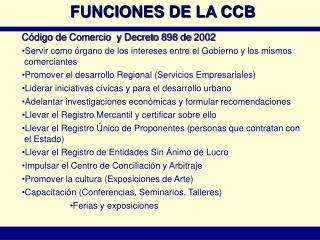 Código de Comercio  y Decreto 898 de 2002
