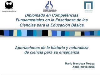Diplomado en Competencias Fundamentales en la Enseñanza de las Ciencias para la Educación Básica