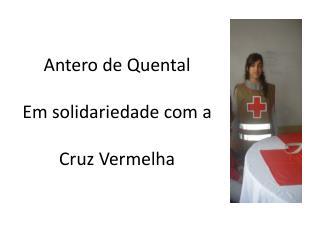 Antero de Quental Em solidariedade com a  Cruz Vermelha
