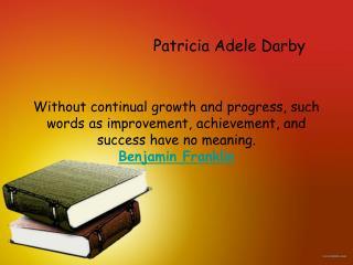 Patricia Adele Darby