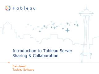 Introduction to Tableau Server Sharing  Collaboration