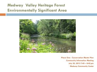 Medway  Valley Heritage Forest Environmentally Significant Area
