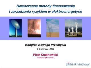 Nowoczesne metody finansowania  i zarz?dzania ryzykiem w elektroenergetyce
