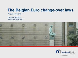 The Belgian Euro change-over laws