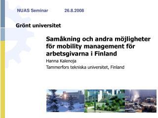 Grönt universitet