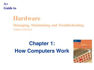 Chapter 1: How Computers Work
