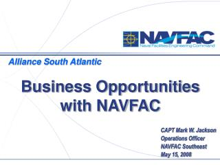 Business Opportunities with NAVFAC