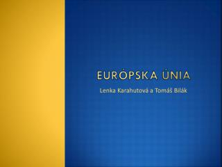Eur ópska únia