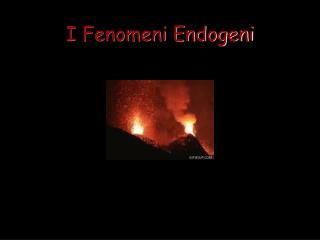 I Fenomeni Endogeni