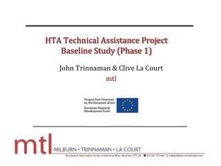 HTA Technical Assistance Project Baseline Study (Phase 1)