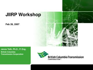JIIRP Workshop   Feb 26, 2007