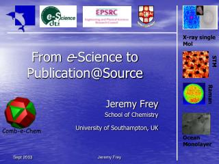 From  e -Science to Publication@Source