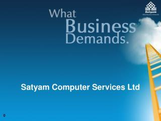 Satyam Computer Services Ltd