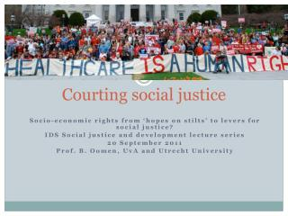 Courting social justice