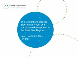 From Gothenburg (2001) to the Renewed EU Sustainable Development Strategy (2006)